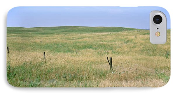 Grass On A Field, Cherry County IPhone Case by Panoramic Images