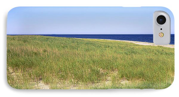 Grass On The Beach, Cape Cod IPhone Case by Panoramic Images