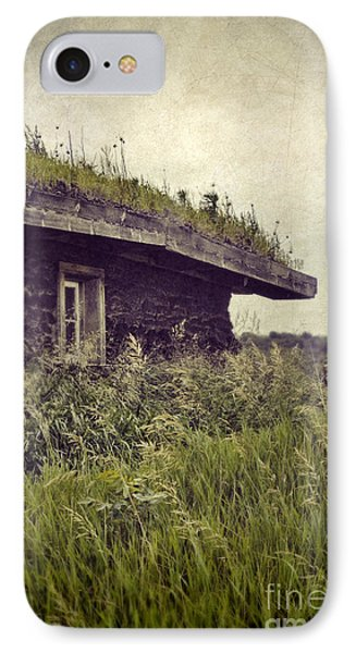 Grass Roof On Cottage IPhone Case