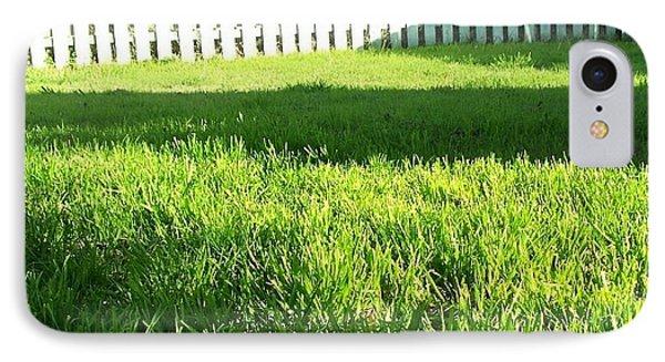 Grass Shadows IPhone Case