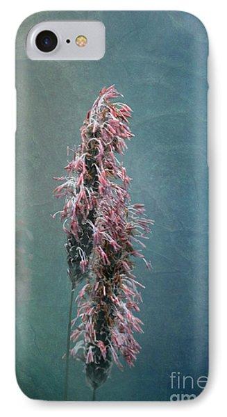 Grasses - Art By Nature Phone Case by Liz  Alderdice