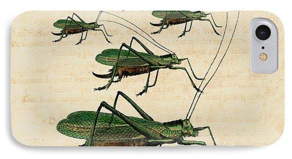 Grasshopper Parade IPhone Case