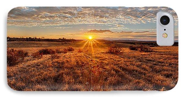 Grassland Sunset IPhone Case