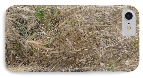 Grassy Abstract IPhone Case by Joel Deutsch