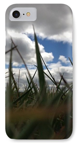 IPhone Case featuring the photograph Grassy Skies by Nikki McInnes