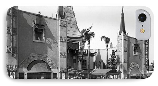 Grauman's Chinese Theater IPhone Case by Underwood Archives