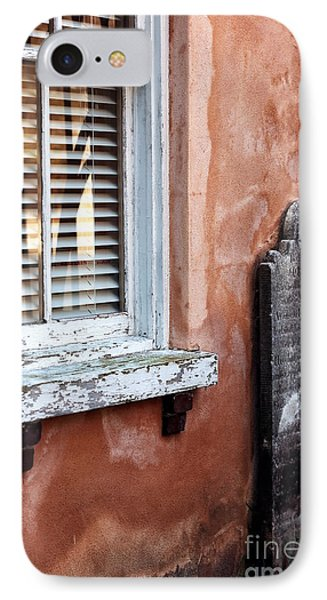 Grave By The Window Phone Case by John Rizzuto