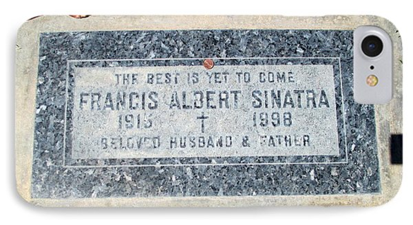Grave Of Frank Sinatra 1 IPhone Case