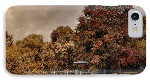 Graves Pond In Autumn IPhone Case by Jai Johnson