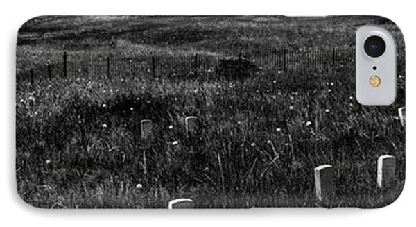 Gravestones On Last Stand Hill IPhone Case