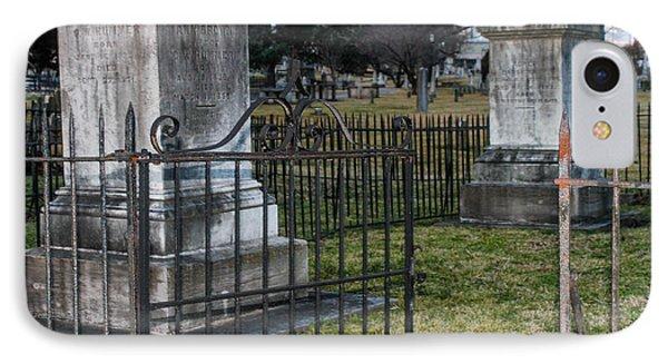 Graveyard In Graveyard IPhone Case by Robert Hebert