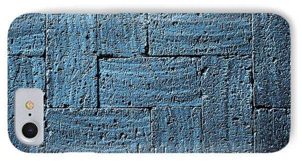 Gray Blue Burnt Bricks Pavement IPhone Case by Jozef Jankola