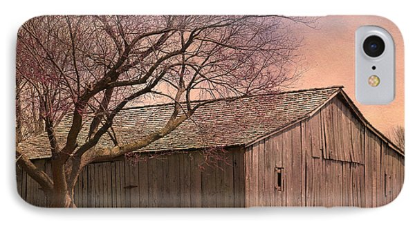 Gray Campbell Farmstead Barn IPhone Case