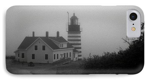 Gray Day In Maine Phone Case by Amanda Kiplinger