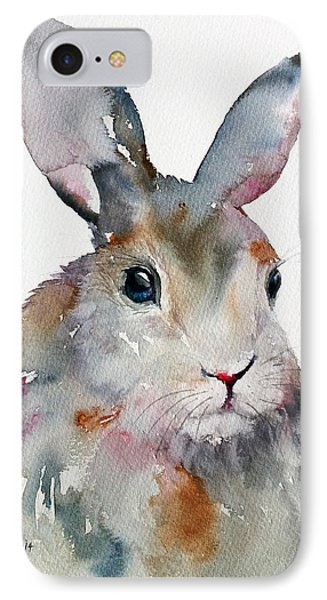 Gray Hare IPhone Case