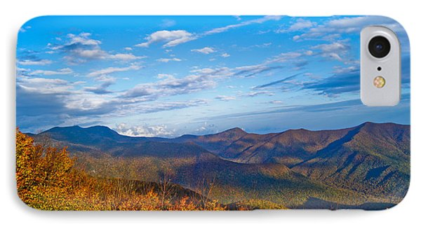 Graybeards Mountain IPhone Case by Debra Crank