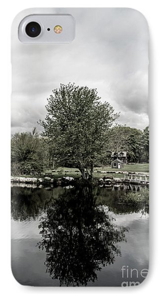 Grays Mill Pond IPhone Case by Angela DeFrias