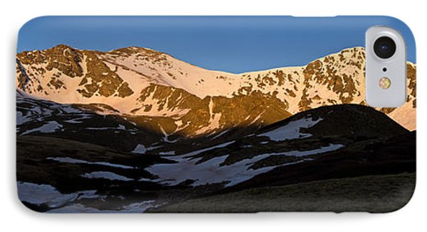 Grays Peak And Torreys Peak Panorama Phone Case by Benjamin Reed