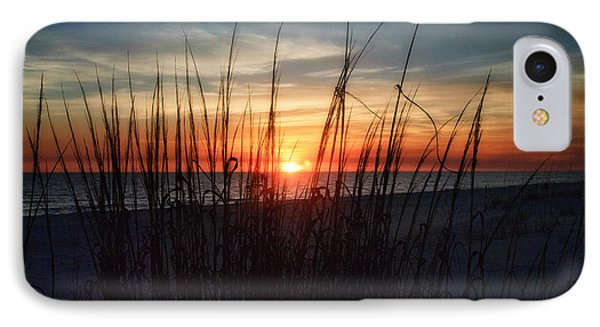 Grayton Beach Sunset 3 IPhone Case