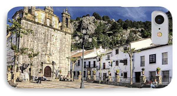 Grazalema Town Hall Square IPhone Case by Goyo Ambrosio