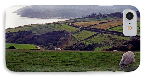 Grazing Sheep County Antrim Northern Ireland IPhone Case by Thomas R Fletcher