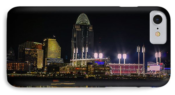 Great American Ball Park IPhone Case by Cathy Donohoue