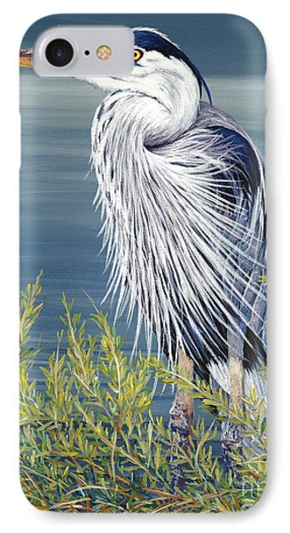 Great Blue Phone Case by Danielle  Perry