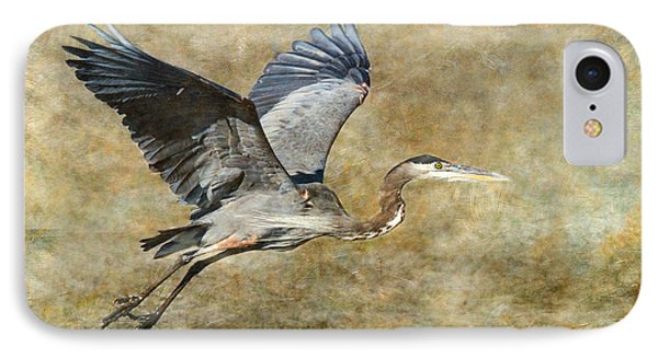 Great Blue Heron 2 IPhone Case