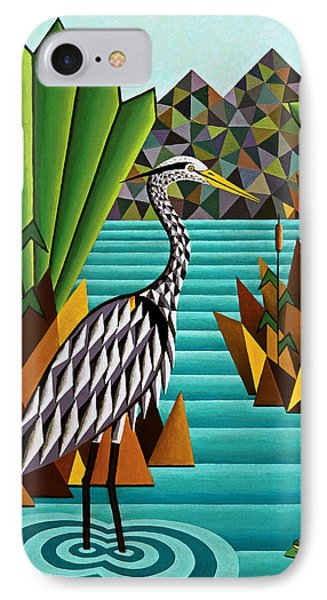 Great Blue Heron Phone Case by Bruce Bodden