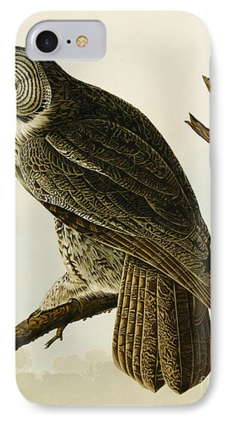 Great Cinereous Owl IPhone Case
