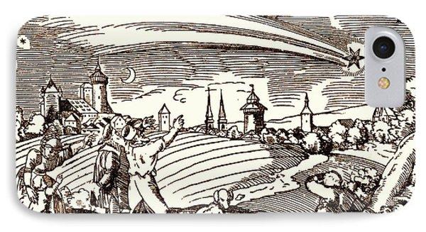 Great Comet Of 1577 IPhone Case by Detlev Van Ravenswaay