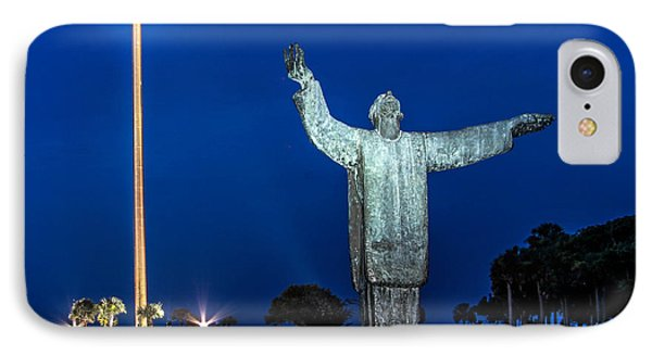Great Cross St. Augustine IPhone Case by Scott Moore