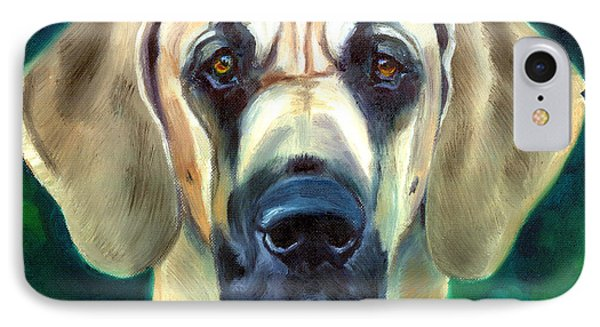 Great Dane Nobility IPhone Case