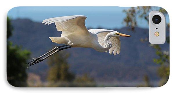 Great Egret 11x14 IPhone Case
