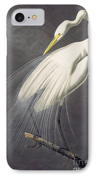 Great Egret  IPhone Case by Celestial Images