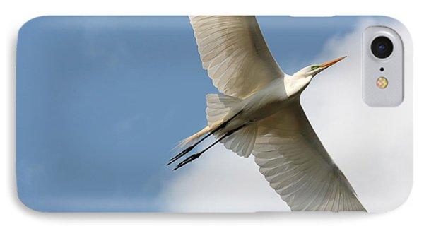 Great Egret Overhead Phone Case by Carol Groenen