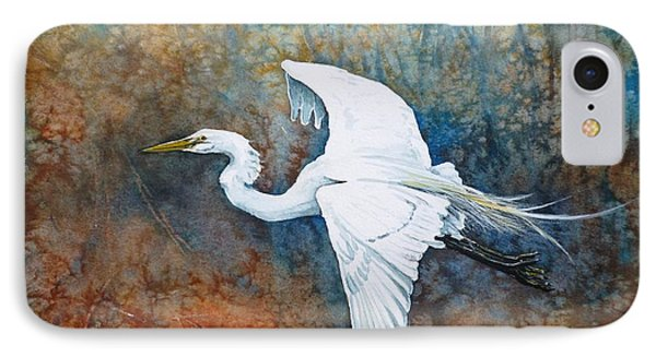 Great Egret  Phone Case by Zaira Dzhaubaeva