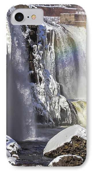 Great Falls And A Rainbow IPhone Case