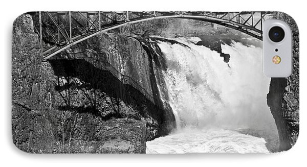 Great Falls In Paterson Nj IPhone Case by Anthony Sacco