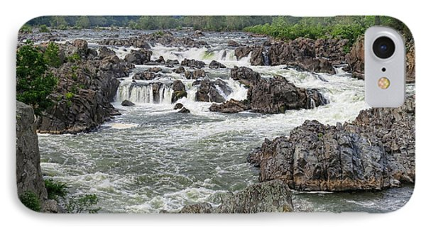 Great Falls Of The Potomac IPhone Case by Olivier Le Queinec