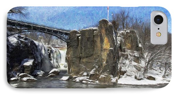 Great Falls Painted IPhone Case