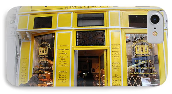 IPhone Case featuring the photograph Great Food In Marais by Jacqueline M Lewis