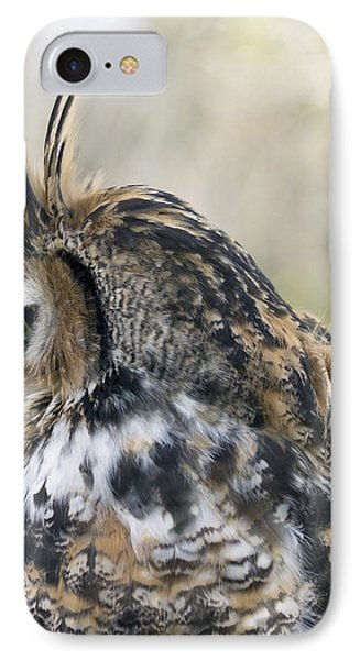 Great Horned Owl Phone Case by Dana Moyer