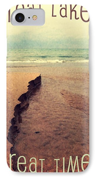 Great Lakes Great Times Phone Case by Michelle Calkins