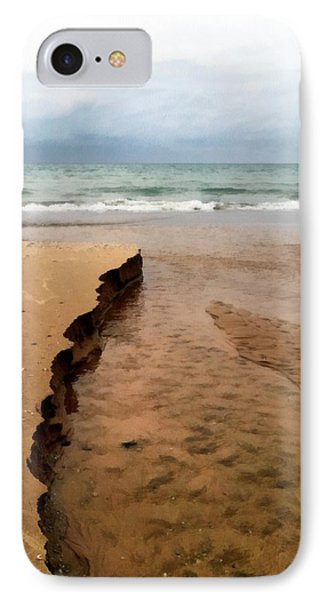 Great Lakes Shoreline IPhone Case by Michelle Calkins