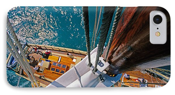 Great Lakes Tall Ship IPhone Case by Dennis Cox WorldViews