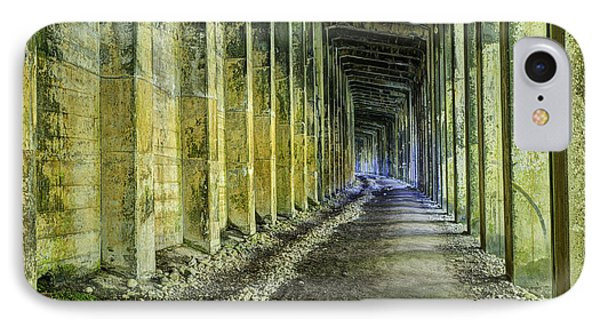 Great Norther Railroad Snow Shed IPhone Case by Mark Kiver