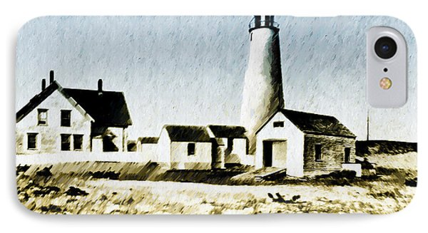 Great Point Lighthouse Nantucket Phone Case by Bill Cannon