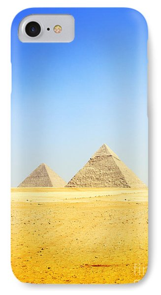 IPhone Case featuring the photograph Great Pyramid Of Giza by Mohamed Elkhamisy