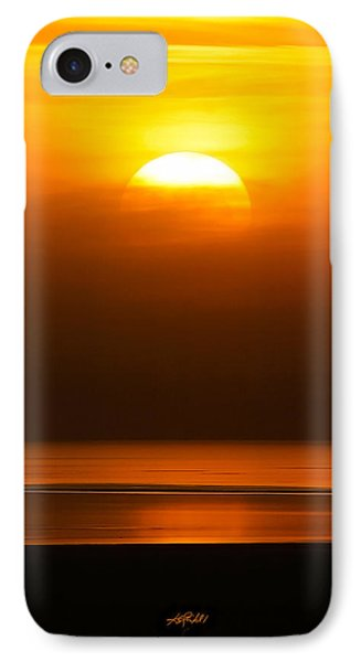 Great Salt Lake Sunset Phone Case by Kirk Strickland
